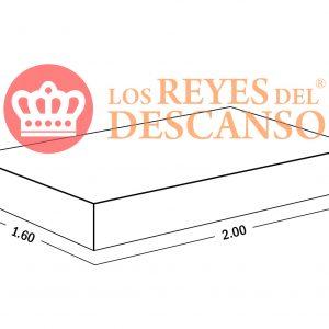 Conjunto Colchon ELITE 160*32*200 Doble Pillow