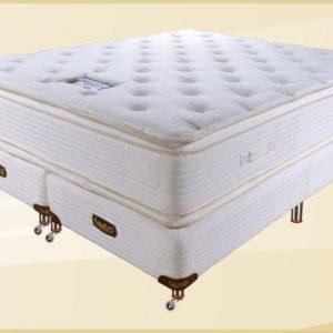 Conjunto Colchon Elite 130x32x190 Doble Pillow