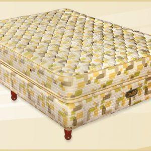 Conjunto Colchon Palace 150x22x190 Doble Pillow