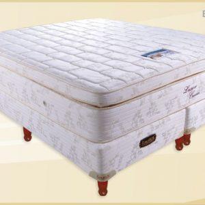 Conjunto Colchon LUXOR 90x32x190 Doble Pillow