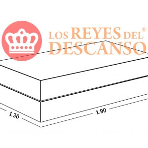 Conjunto Colchon Silver 130x22x190 Tela Sabana