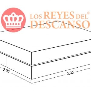 Conjunto Colchon ELITE 200X32X200 Doble Pillow