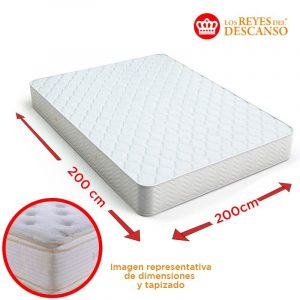 Colchon ELITE 200x32x200 Doble Pillow