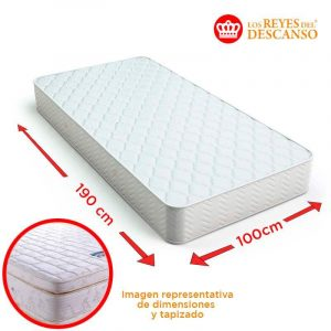 Colchon Luxor 100x32x190 Doble Pillow
