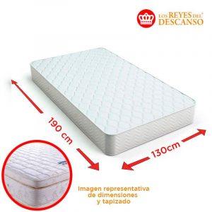 Colchon LUXOR 130x32x190 Doble Pillow